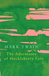Omslag - The Adventures of Huckleberry Finn