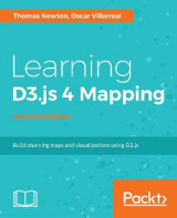 Omslag - Learning D3.js 4 Mapping -