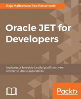 Omslag - Oracle JET for Developers