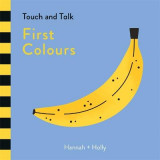 Omslag - Hannah + Holly Touch and Talk: First Colours