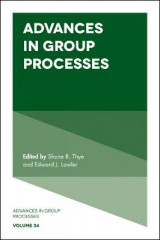 Omslag - Advances in Group Processes