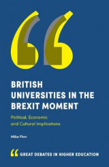 Omslag - British Universities in the Brexit Moment