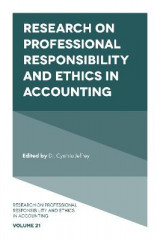 Omslag - Research on Professional Responsibility and Ethics in Accounting