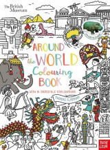 Omslag - British Museum: Around the World Colouring Book