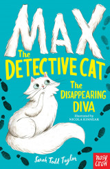 Omslag - Max the Detective Cat: The Disappearing Diva