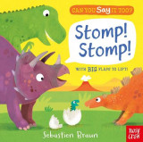 Omslag - Can You Say It Too? Stomp! Stomp!