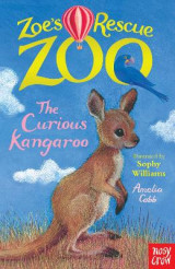 Omslag - Zoe's Rescue Zoo: The Curious Kangaroo