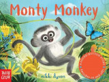 Omslag - Sound-Button Stories: Monty Monkey