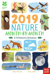 National Trust: 2019 Nature Month-By-Month: A Children's Almanac av Anna Wilson (Innbundet)