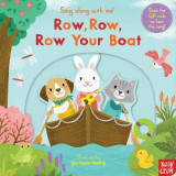Omslag - Sing Along With Me! Row, Row, Row Your Boat
