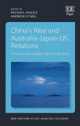 Omslag - China'S Rise and Australia-Japan-Us Relations