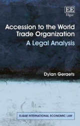 Omslag - Accession to the World Trade Organization