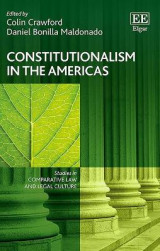 Omslag - Constitutionalism in the Americas