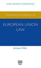 Omslag - Advanced Introduction to European Union Law