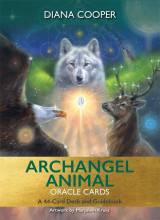 Omslag - Archangel Animal Oracle Cards