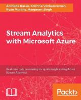 Omslag - Stream Analytics with Microsoft Azure