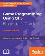 Omslag - Game Programming using Qt 5 Beginner's Guide