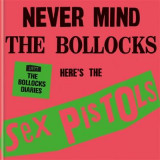 Omslag - The Sex Pistols - 1977: The Bollocks Diaries