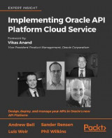 Omslag - Implementing Oracle API Platform Cloud Service