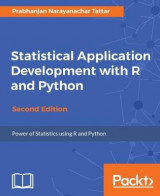 Omslag - Statistical Application Development with R and Python -