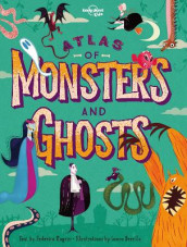 Atlas of Monsters and Ghosts av Lonely Planet Kids (Innbundet)