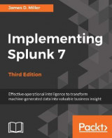 Omslag - Implementing Splunk 7, Third Edition