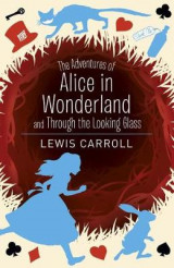 Omslag - Alice's Adventures in Wonderland and Through the Looking Glass