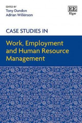Omslag - Case Studies in Work, Employment and Human Resource Management