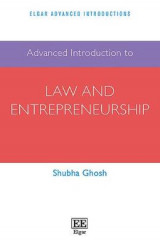 Omslag - Advanced Introduction to Law and Entrepreneurship