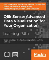 Omslag - Qlik Sense: Advanced Data Visualization for Your Organization