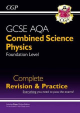 Omslag - New 9-1 GCSE Combined Science: Physics AQA Foundation Complete Revision & Practice with Online Edn