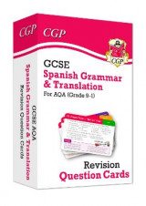 Omslag - New Grade 9-1 GCSE AQA Spanish: Grammar & Translation Revision Question Cards