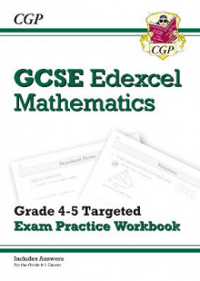 GCSE Maths Edexcel Grade 4-5 Targeted Exam Practice Workbook (includes answers) av CGP Books (Heftet)