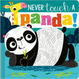 Omslag - Never Touch a Panda Silicone Board Book