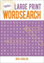 Large Print Wordsearch av Ben Addler (Heftet)