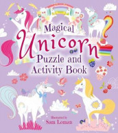 Magical Unicorn Puzzle and Activity Book av Sam Loman (Heftet)