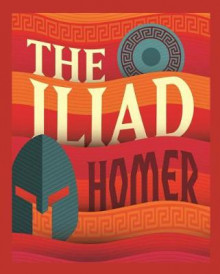 The Iliad av Homer (Innbundet)