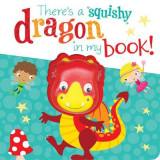 Omslag - There's a Dragon in my book!