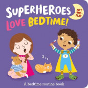 Superheroes Love Bedtime! av Katie Button (Kartonert)