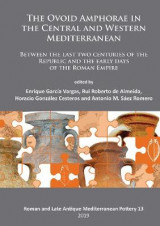 Omslag - The Ovoid Amphorae in the Central and Western Mediterranean