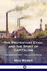 Omslag - The Protestant Ethic and the Spirit of Capitalism