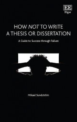 Omslag - How Not to Write a Thesis or Dissertation