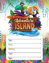 Omslag - Vacation Bible School (Vbs) 2021 Discovery on Adventure Island Small Promotional Poster (Pkg of 2)