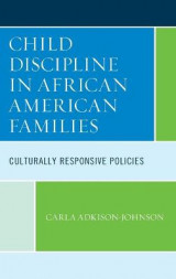 Omslag - Child Discipline in African American Families