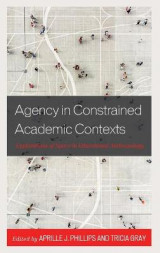 Omslag - Agency in Constrained Academic Contexts
