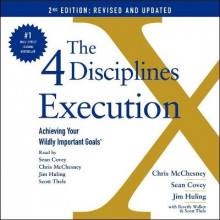 The 4 Disciplines of Execution: Revised and Updated av Chris McChesney, Sean Covey og Jim Huling (Lydbok-CD)