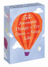 Omslag - 52 Awesome Things to Try Once in Your Life