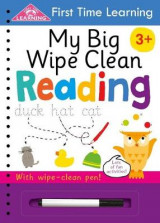 Omslag - First Time Learning: My Big Wipe Clean Reading