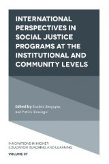 Omslag - International perspectives in social justice programs at the institutional and community levels