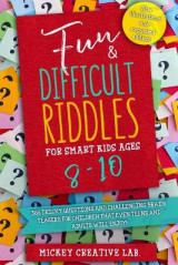 Omslag - Fun & Difficult Riddles for Smart Kids Ages 8-10